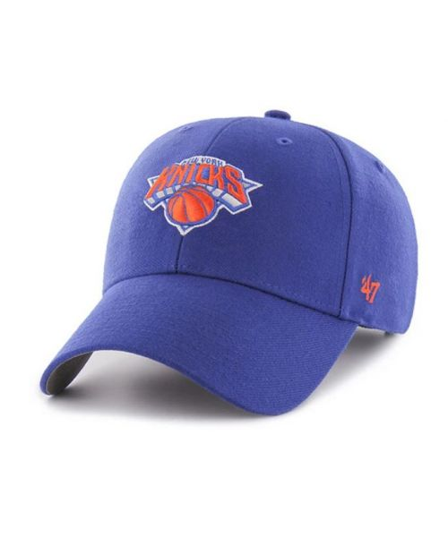 '47 Brand New York Knicks NBA MVP Adjustable Adult Hat Blue