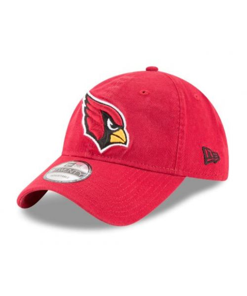 New Era Arizona Cardinals NFL Core Classic 9TWENTY Adjustable Adult Hat Red