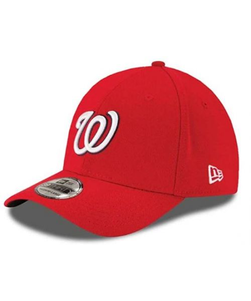 New Era Washington Nationals MLB Team Classic 39THIRTY Stretch Fit Adult Hat Red