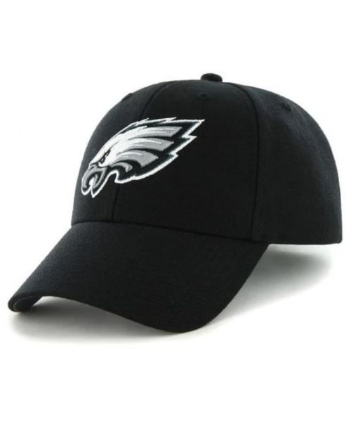 '47 Brand Philadelphia Eagles NFL MVP Adjustable Velcroback Hat Black