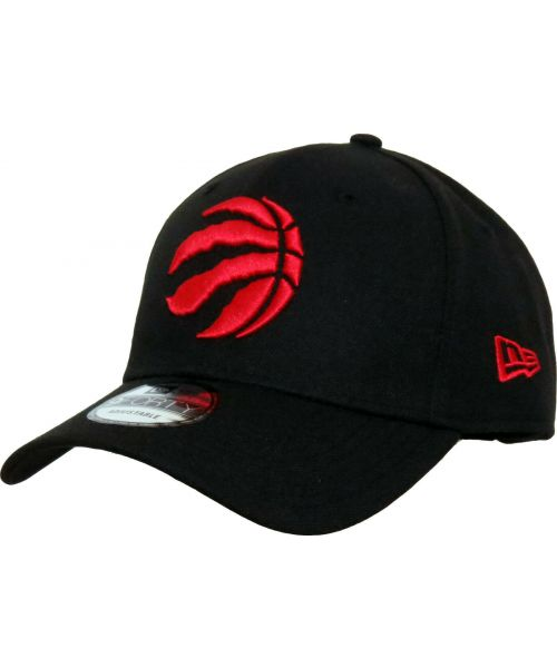 New Era Toronto Raptors NBA The League OSFA 9FORTY Velcroback Hat Black