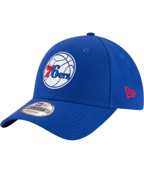 New Era Philadelphia 76ers NBA The League OTC 9FORTY Velcroback Hat Royal Blue