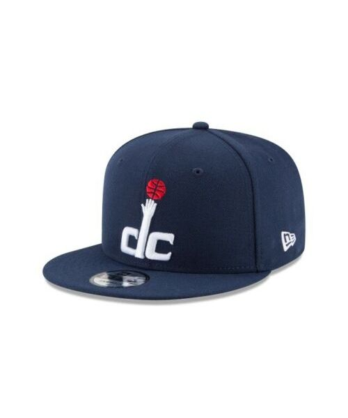 New Era Washington Wizards NBA Basic OSFA 9FIFTY Snapback Hat Navy Blue