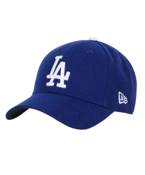 New Era Los Angeles Dodgers MLB JR The League YOUTH 9FORTY Velcroback Hat Royal Blue