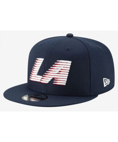 New Era Los Angeles Clippers NBA City Series 2018 9FIFTY Snapback Hat Navy Blue