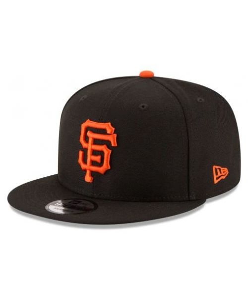 new product dc05b f81d0 New Era San Francisco Giants MLB Basic JR OTC YOUTH 9FIFTY Snapback Hat  Black