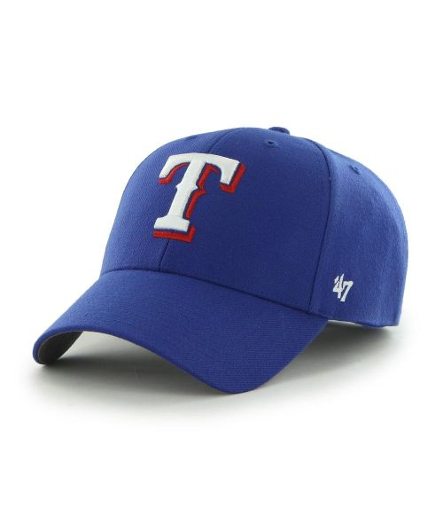'47 Brand Texas Rangers MLB MVP Adjustable Velcroback Hat Blue