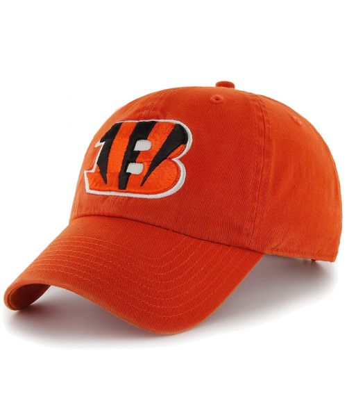 '47 Cincinnati Bengals NFL Clean Up Strapback Hat Orange