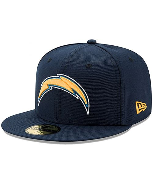 New Era Los Angeles Chargers NFL Oceanside Basic 59FIFTY Fitted Hat Navy Blue