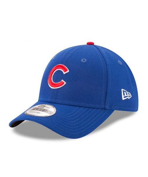 New Era Chicago Cubs MLB The League 9FORTY Velcroback Hat Blue