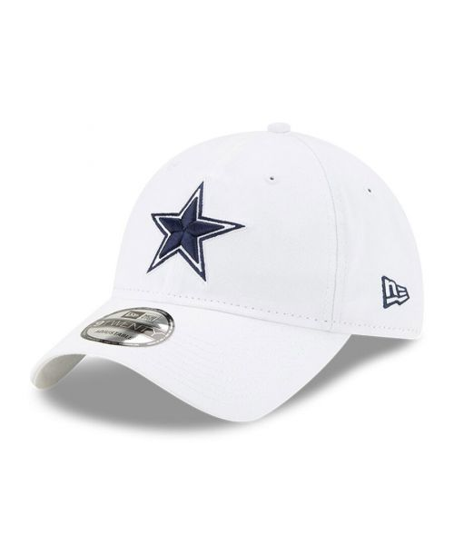 New Era Dallas Cowboys NFL Core Classic 9TWENTY Adjustable Strapback Hat White