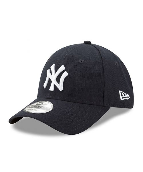 New Era New York Yankees MLB The League 9FORTY Velcroback Hat Navy Blue