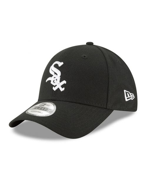 New Era Chicago White Sox MLB The League 9FORTY Velcroback Hat Black