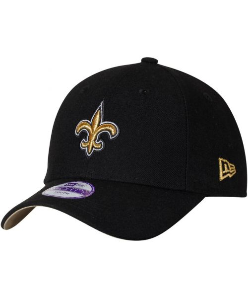 New Era New Orleans Saints NFL The League YOUTH 9FORTY Velcroback Hat Black