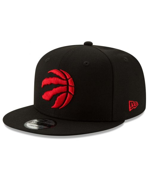 New Era Toronto Raptors NBA OSFA Basic 9FIFTY Snapback Hat Black