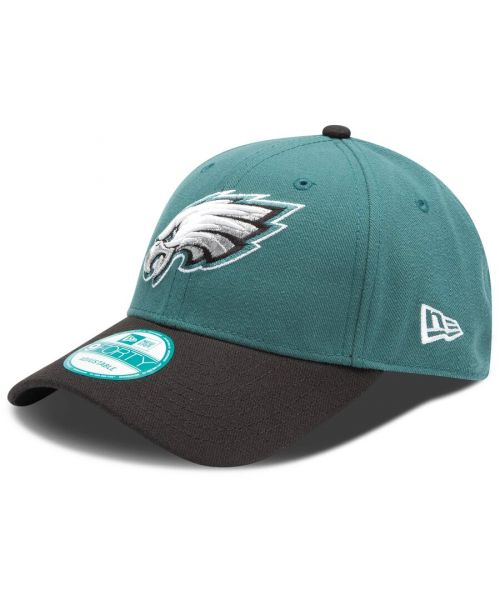 New Era Philadelphia Eagles NFL The League 9FORTY Velcroback Hat Green Black