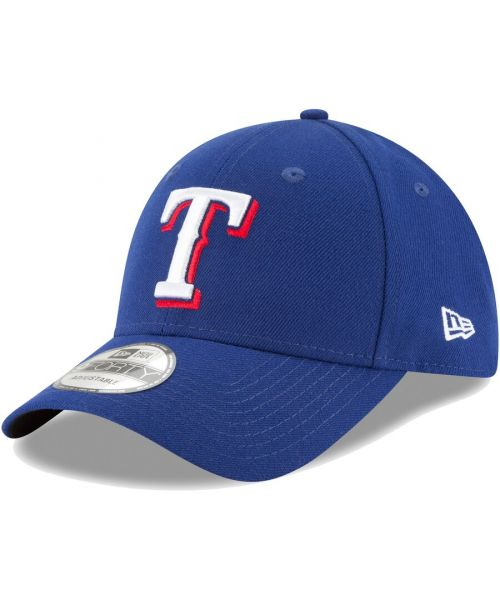 New Era Texas Rangers MLB The League 9FORTY Velcroback Hat Blue