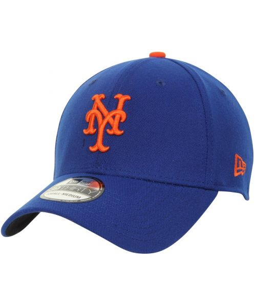 New Era New York Mets MLB Team Classic 39THIRTY Stretch Fit Hat Blue