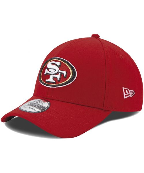 New Era San Francisco 49ers NFL Team Classic 39THIRTY Stretch Fit Hat Red