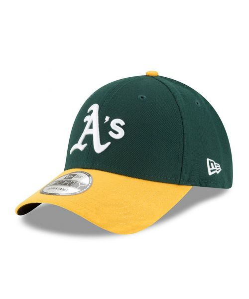 New Era Oakland Athletics MLB The League 9FORTY Velcroback Hat Green