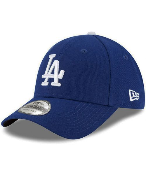 low priced edf86 80a4a New Era Los Angeles Dodgers MLB Authentic The League 9FORTY Velcroback Hat  Blue