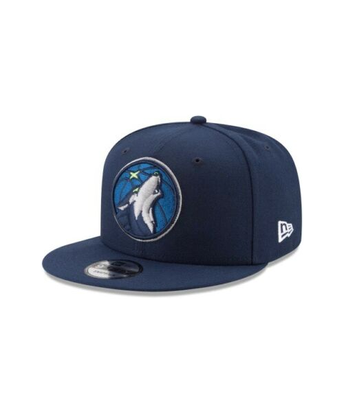 New Era Minnesota Timberwolves NBA OTC OSFA 9FIFTY Snapback Hat Navy Blue