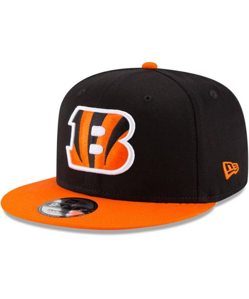 New Era Cincinnati Bengals NFL Kid Baycik 9FIFTY Snapback YOUTH Hat Black Orange