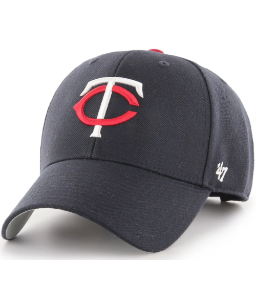 '47 Brand Minnesota Twins MLB MVP Adjustable Velcroback Hat Navy Blue
