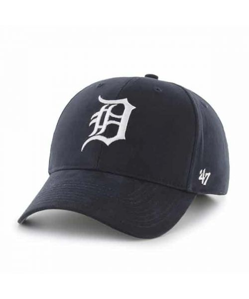 '47 Brand Detroit Tigers MLB MVP Adjustable TODDLER Hat Navy Blue