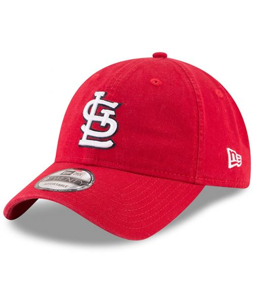 New Era St. Louis Cardinals MLB Core Classic 9TWENTY Adjustable Adult Hat Red
