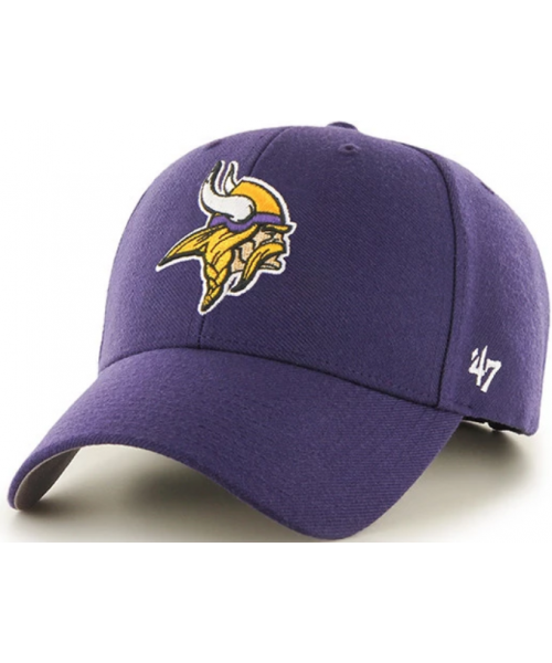 '47 Brand Minnesota Vikings NFL MVP Adjustable Strapback Hat Purple