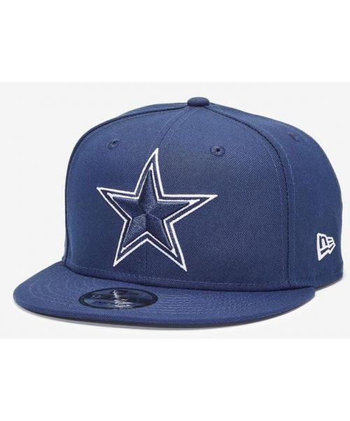New Era Dallas Cowboys Basic 9FIFTY Navy Snapback Adjustable Hat