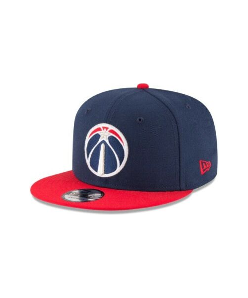 New Era Washington Wizards NBA 2Tone OSFA 9FIFTY Snapback Hat Navy Blue Red