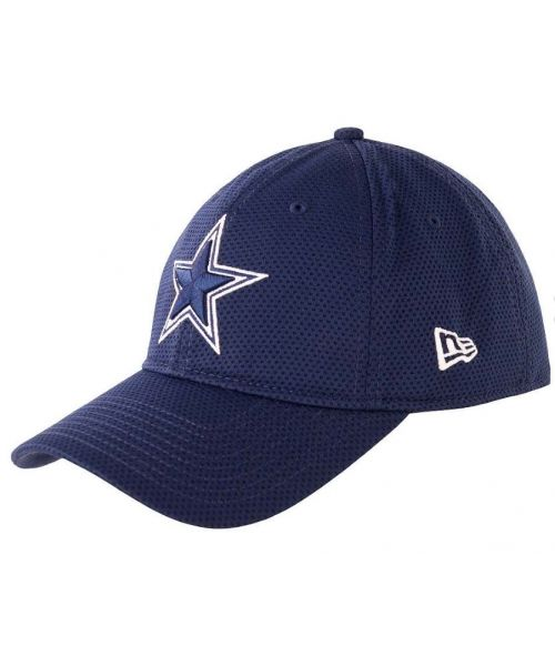 New Era Dallas Cowboys NFL Performance Shore Adjustable 9Twenty Velcroback Hat Navy
