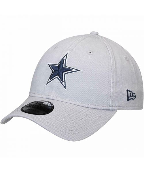 New Era Dallas Cowboys NFL Core Shore 9TWENTY Strapback Hat Light Gray