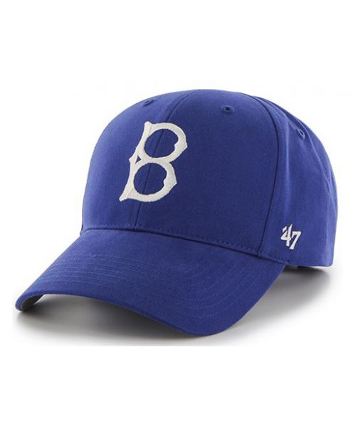 '47 Brand Los Angeles Dodgers MLB MVP Brooklyn Logo INFANT Stretch Fit Hat Royal Blue